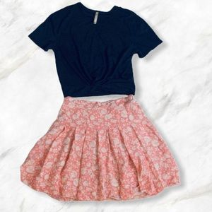 4/$20 Old Navy Beachy Floral Skirt